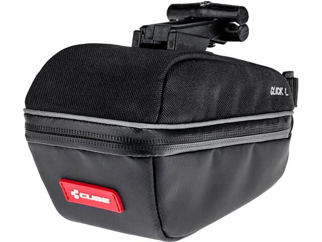 Cube Click Seat Post Bag L, black